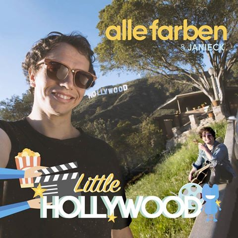 Alle Farben & Janieck - Little Hollywood (single artwork cover)