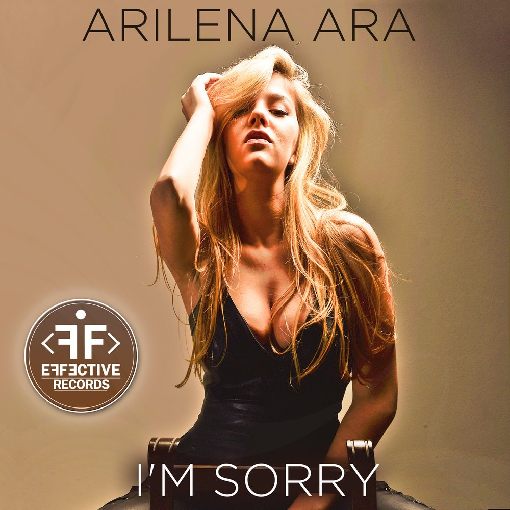Arilena Ara - I'm Sorry (single artwork cover)