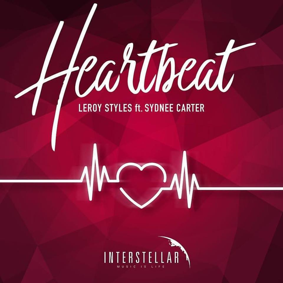 Leroy Styles ft. Sydnee Carter - Heartbeat (single artwork cover)